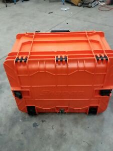 Snap On Rolling Mobile Tool Chest Orange 7 Drawers Kmc18043por