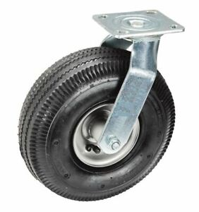 10 In Pneumatic Durable Heavy duty Swivel Caster Tire 300 Lb Capacity 4 pack