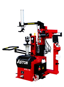 4 0hp Fully Automatic Leverless Center Post Tire Changer 12 30 Super Easy Use