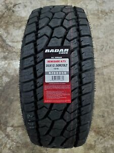 35x12 50r20lt Radar Renegade A t5 All terrain 121s 10ply Load E Owl set Of 4