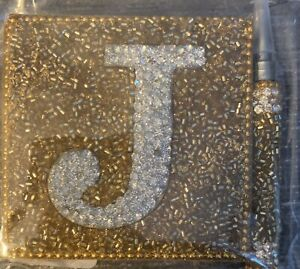 New Pier 1 Mini Note Pad And Pen Gold J Nwt