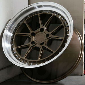 18x8 5 Bronze Wheels Aodhan Ds08 Ds8 5x114 3 35 set Of 4 73 1