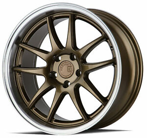 18x8 5 Bronze Wheels Aodhan Ds02 Ds2 5x114 3 35 set Of 4 73 1