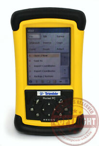 Recon Survey Pro Surveying Data Collector total Station trimble topcon tds