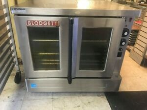 Pre owned Blodgett Sho 100 e Sgl Standard Full Size Electric Convection Oven