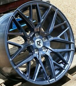 20 Arctic Forged Downforce Dc10 Wheels 20x9 20x11 5x114 3 Flow Formed Mustang