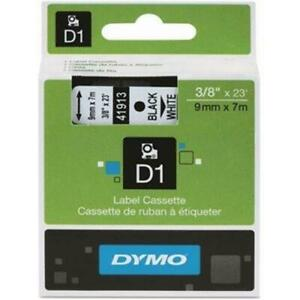 Dymo Standard D1 Labeling Tape For Labelmanager Label Makers Black Print On