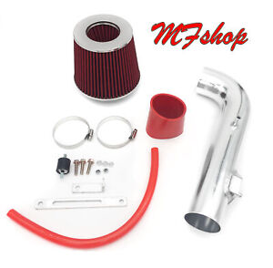 Red For 2000 2002 Toyota Corolla Dohc 1 8l L4 Air Intake System Kit Filter