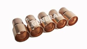Copper Reducer Coupling 1 1 8 X 7 8 For A c Refrigeration Lines 5 Pcs