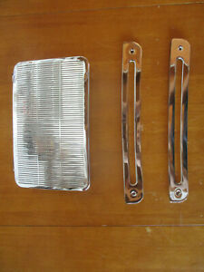 1963 1964 Ford 300 Custom Galaxie 500 Xl Chrome Dash Defroster Vent Trim Bezels
