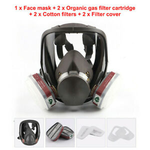 Full Face Cover Suit Painting Spraying Gas Cover For 6800 Facepiece Respirator