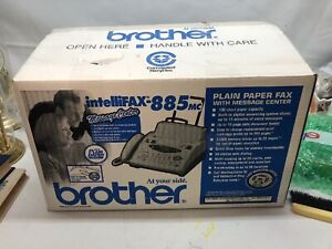 Brother Intellifax 885mc Plain paper Fax Machine With Message Center