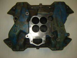 Vintage Mopar Plymouth Dodge 383 440 Intake Manifold Charger Super Bee Rd Runner