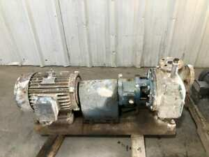 Summit Goulds Sto Stainless Self priming Trash Pump 10hp 1 1 2 X 1 3 4