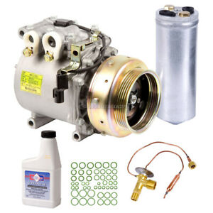 For Mitsubishi Mirage 1994 1995 1996 Oem Ac Compressor W A C Repair Kit Tcp