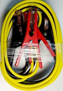 Booster Cable 12 Feet 8 Gauge 8ga Heavy Duty Extra Power Battery Jumper