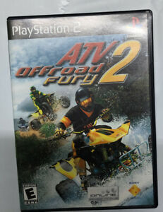 ATV Offroad Fury 2 (Sony PlayStation 2  2001) PS2 Complete Manual Free Shipping