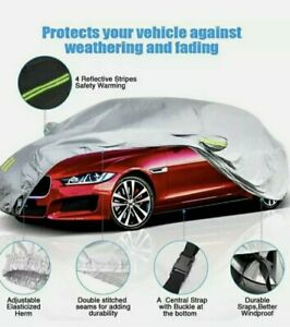 Eluto Car Cover Outdoor Sedan Cover Waterproof Windproof Item 416 Box L Large