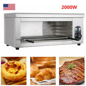 2kw Cheese Melting Machine Melter Electric Broiler Bbq Counter Grill Wallmounted