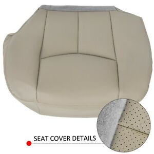For 2003 2006 Cadillac Escalade Driver Side Bottom Leather Seat Cover Tan
