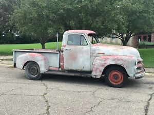 1954 Chevrolet 3100 3 Window Truck 4l60e Trans 5 3l Engine potential Build