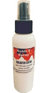 sublimation Coating spray For Cotton T shirts Polyester 4 Oz Sample