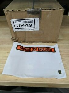 1000pcs 7 1 2 X 5 5 Packing List Slip Enclosed Stickers Sleeve 7 5 X 5 5 Jp 19
