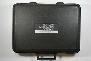 Set Of 3 Hoffman Modulation Contrast Microscope Objectives 10x 40x 100x W Case