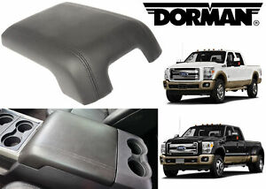 Dorman 925 005 Black Center Console Lid Replacement For 2011 2016 Ford F250 F350