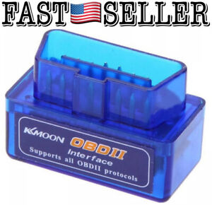 Mini Obd2 Bluetooth Interface Auto Wireless Car Scan Tool For Android Windows