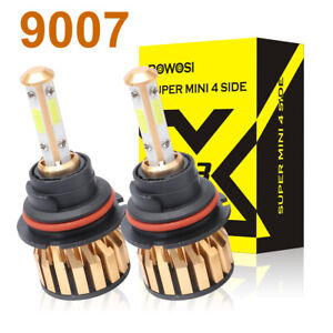 4 sides Led Headlight Bulbs 9007 3800w 570000lm Hi lo Beam For Ford Crown Ranger