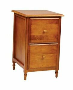 Office Star Knob Hill Collection File Cabinet Antique Cherry Finish