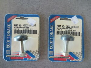 New 1965 1973 Ford Mustang Hood Radiator Support Bumpers Pair Free Shipping