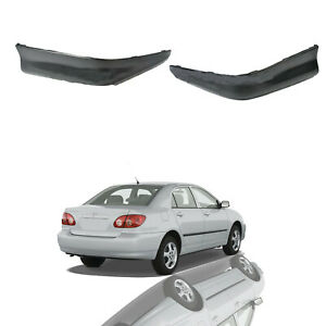 For 2005 2008 Toyota Corolla S Style Rear Bumper Sport Splitter Lips Spoiler Kit