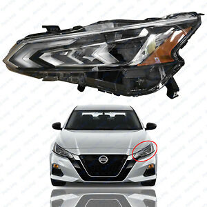 For 2019 2020 2021 Nissan Altima Headlight Assembly Led Left Driver Side