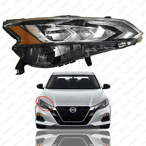 For 2019 2020 2021 Nissan Altima Led Headlight Assembly Right Passenger Side