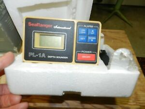 Vintage 1980s  Sea Ranger PL-1A Digital Depth Sounder w/LCD Display  Unused