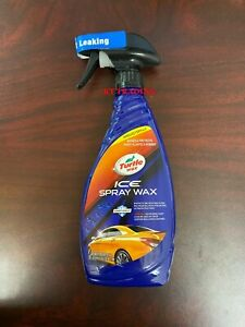 Turtle Wax T 477r Ice Spray Wax Car Auto Paint Plastic Rubber Protection 20 Oz
