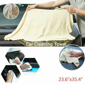 Super Absorbent Chamois Leather Car Cleaning Cloth Large Washing Drying Towel