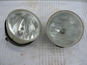 99 04 Jeep Grand Cherokee Left Right Fog Lights Lamps Oem