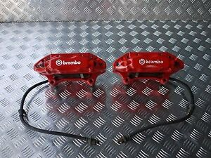Brembo Front 4pot Caliper 08 Fit For Honda Acura Integra Dc5 Type R Type S Rsx