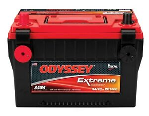 Battery Automotive Odyssey Batteries 34 78 Pc1500dt