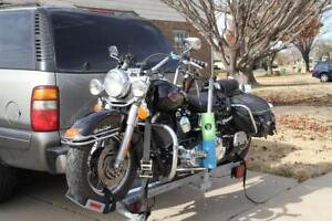 Motorcycle Carrier Hitch Mount Rack Class 3 2 Square Receiver 900 Lbs Capacity