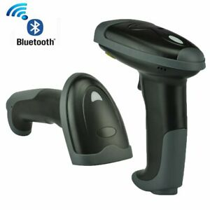 Wireless Bluetooth 2 4g Barcode Scanner Handheld Usb Receiver Laser Rechargeable