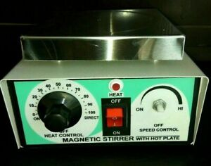 Magnetic Stirrer With Hot Plate With Energy Regulator Speed Control
