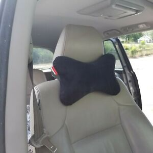 Black Memory Foam Car Auto Head Rest Support Pillow Neck Pain Relief Cushion