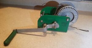 Greenlee Cable Puller 766 M5 2 speed 1500lb Manual Hand Crank Winch Wire Tugger