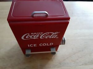 Coca-Cola Vintage 1995 Tooth Pick Holder Red Vending Machine Dispenser