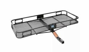 Pro Series Rambler Cargo Carrier Basket For 2 Trailer Mounted Hitch used