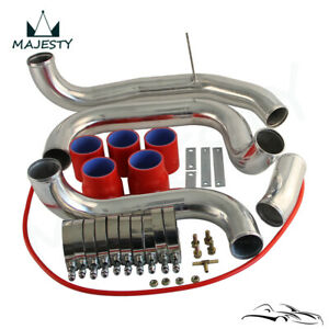 Upgrade Intercooler Pipe Piping Kit For Skyline Gtst Gt R R33 R34 Rb25det Red